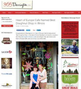 The Heart Of Europe Cafe Barrington - 365 Barrington