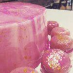Pink Mirror Cake