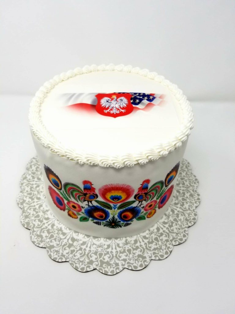 Polish-american cake for Emanuel Rahm - the heart of europe cafe